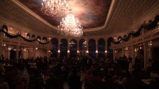 Dinner At Be Our Guest Restaurant In New Fantasyland