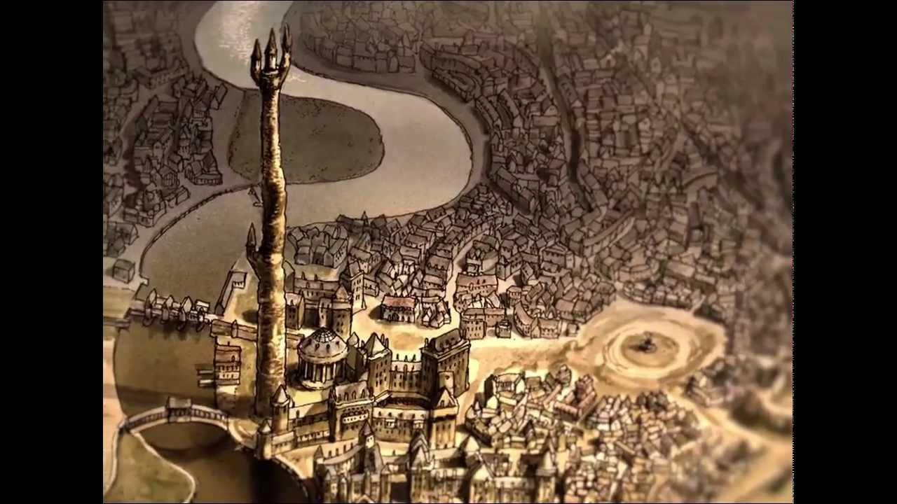 Discworld The Ankh Morpork Map For Ipad App Intro Video Youtube