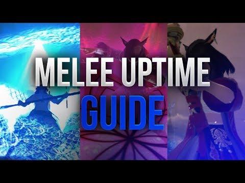 【FFXIV】Melee Uptime Optimization Guide
