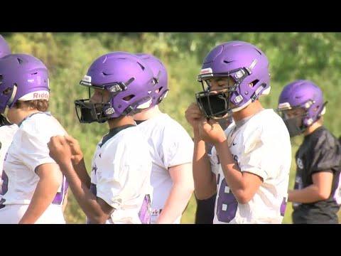 Kenosha Indian Trail football team adds masks to uniform