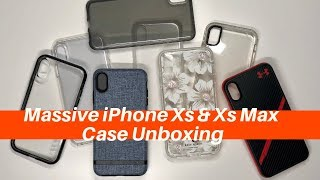 Massive iPhone Xs & iPhone Xs Max Case Unboxing