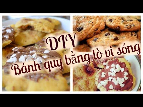 Cách làm bánh quy bằng lò vi sóng