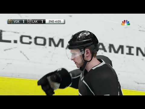 NHL 18 Stanley Cup Playoffs Game 3 Vegas Golden Knights vs Los Angeles Kings 04 15 2018