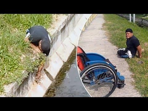 El vídeo de este deportista paralímpico para salvar a un gato no deja de acumular elogios
