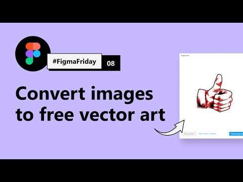 Convert Image To Vector Illustration Using This Free SVG Converter Plugin | #FigmaFriday 08