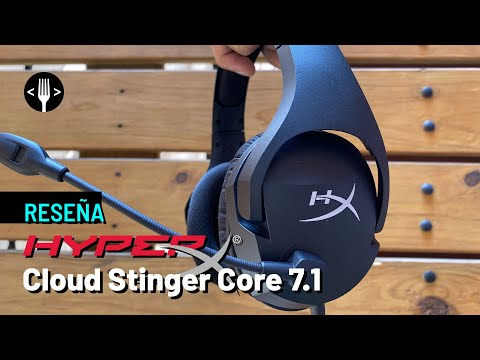 Reseña: HyperX Cloud Stinger Core 7.1