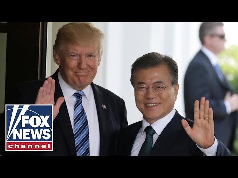 trump signs us korea free trade agreement youtube. Black Bedroom Furniture Sets. Home Design Ideas