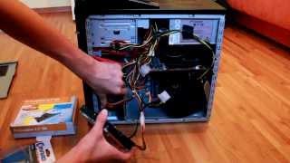 PC Festplatte einbauen || Deutsch