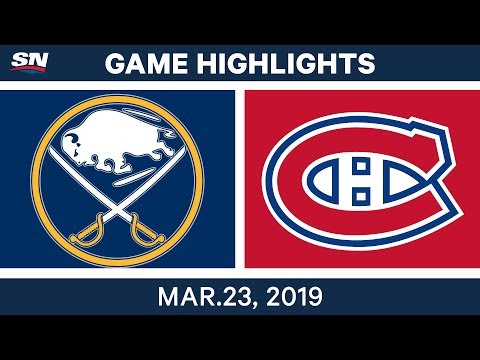 NHL Game Highlights | Sabres vs. Canadiens – March 23, 2019