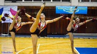 Черлидинг (Данс команда) - Чемпионат Украины по Черлидингу 2014