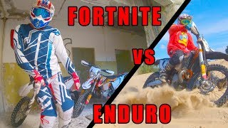 Fortnite Dance vs Enduro Riding [BikeBreakers] 4K