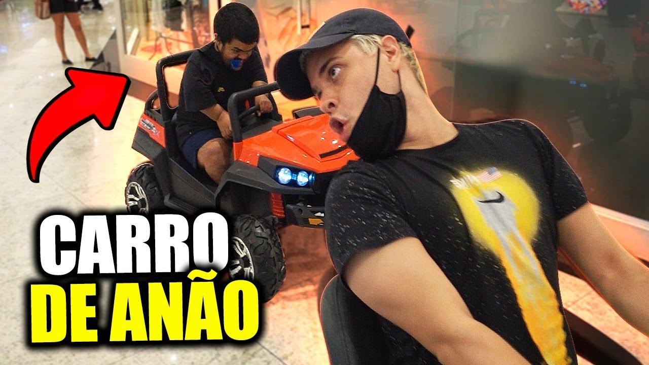 UM MINI CARRO PARA O ANÃO TAROBINHA!!