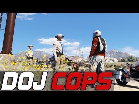 Dept. of Justice Cops #499 - Parachute Man