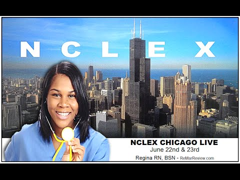 NCLEX Chicago Live  -  College of DuPage