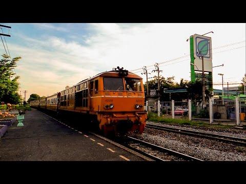 รถไฟไทย # ขบวนรถชานเมืองที่ 341 กรุงเทพฯ - ชุมทางแก่งคอย  State Railway of Thailand