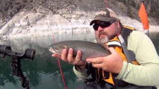 Kayak Fishing Lahontan Cutthroat Trout