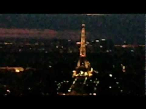 View from the Montparnasse tower in Paris..at night :)