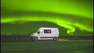 Iceland Road Trip With Northern Lights!