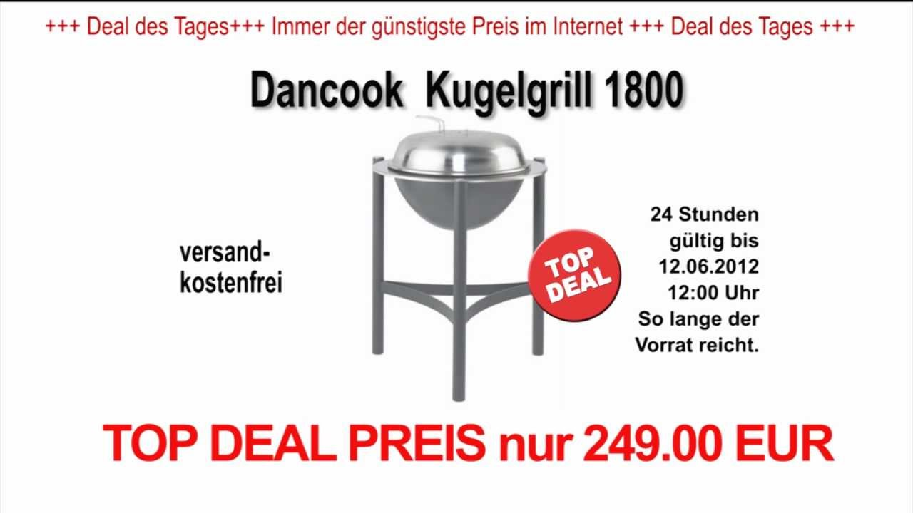 dancook kugelgrill 1800 youtube. Black Bedroom Furniture Sets. Home Design Ideas