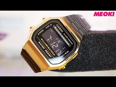 Casio Gold Collection A168WEGB-1BEF -Unisex Retro Watch (Unboxing)