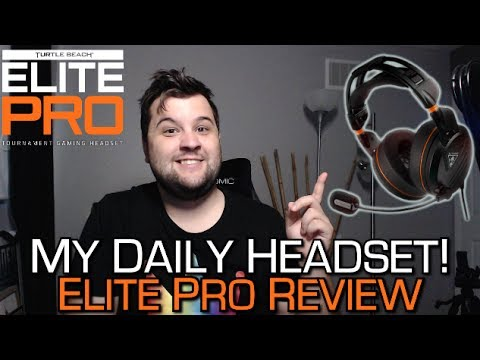 Turtle Beach Elite Pro Tournament Review - MY DAILY HEADSET!