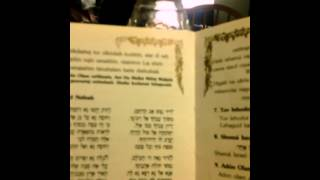 Yedid Nefesh melodia para shabbat