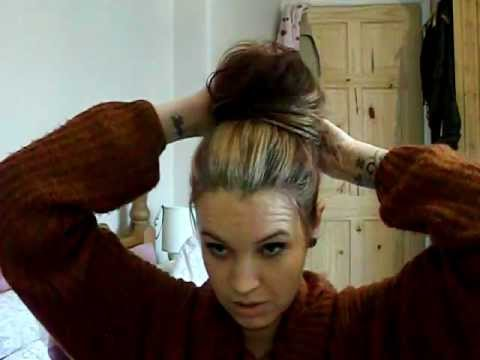 My Super Fast  Hair Up Do