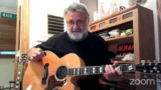 9 10 2020 JD's Blues jam guitar soloing tutorial 101