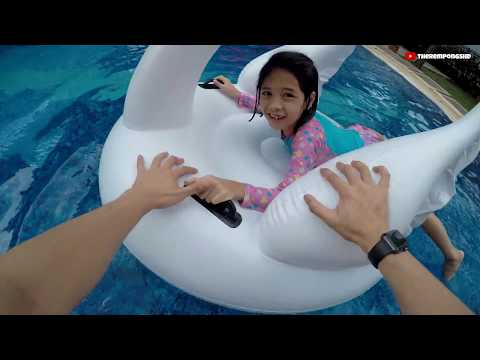 Unboxing di Kolam Renang Kids Playing in the Pool  TheRempongs