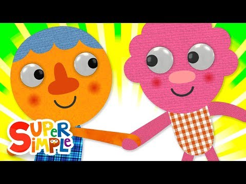 Whats Your Name?  Kids Songs  Super Simple Songs