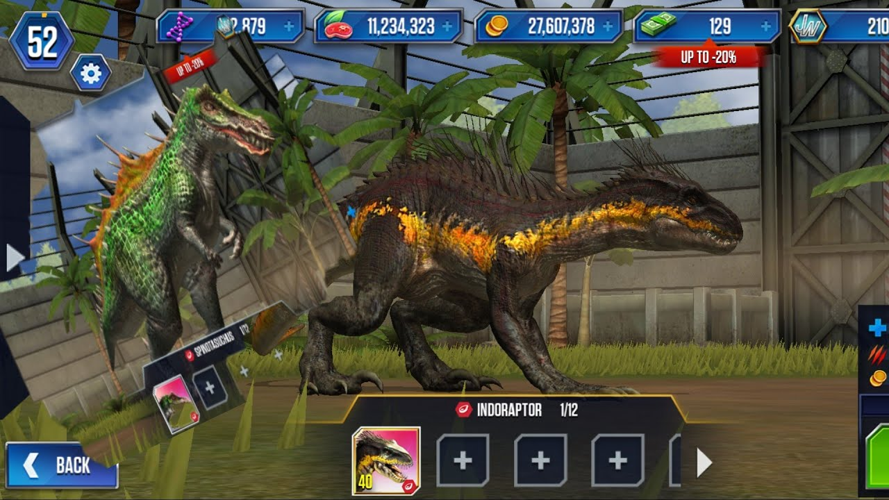 Jurassic world the game hile