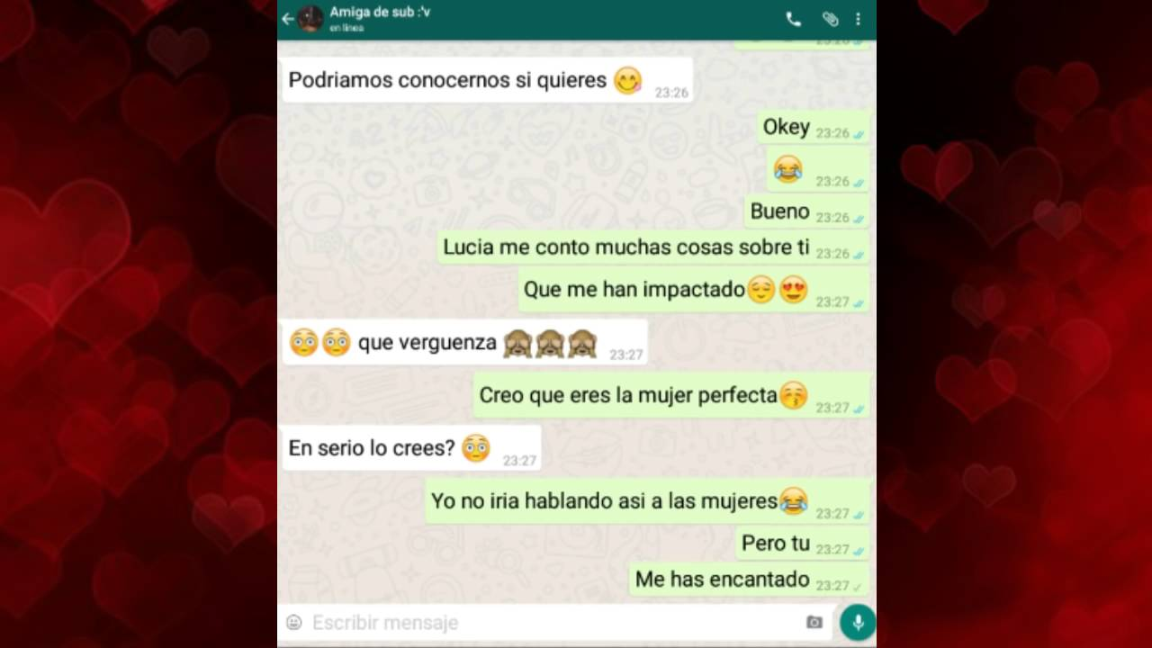 Whatsapp para el novio 7 - 1 part 8