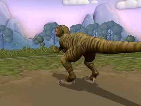 Spore Tyrannosaurus Rex Final