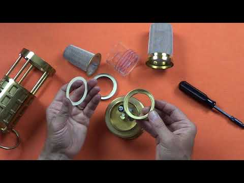 Koehler Flame Safety Lamp Disassembly