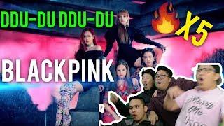 """Download Lagu ITS OVER.... BLACKPINK hit us with that """"DDU-DU DDU-DU"""" (x5 MV REACTION) and we don't survive.... Mp3"""