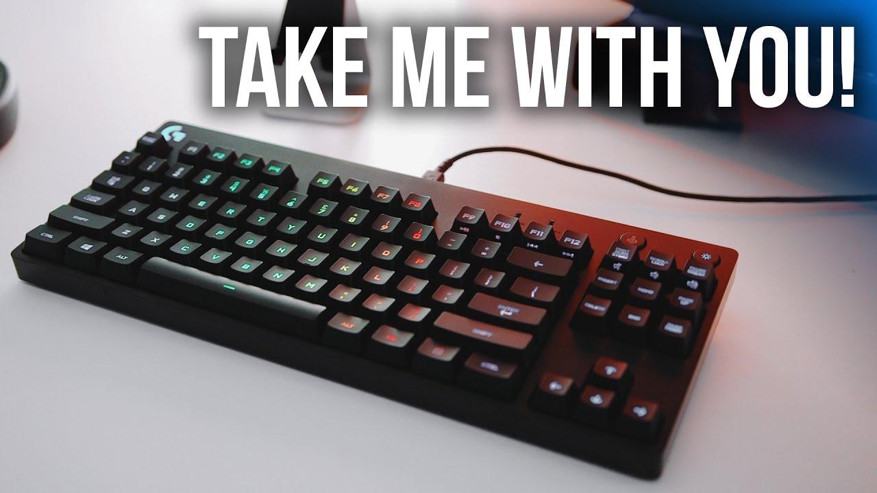 54fe05243d7 Logitech's Ultra Compact TKL Gaming Keyboard! - YouTube