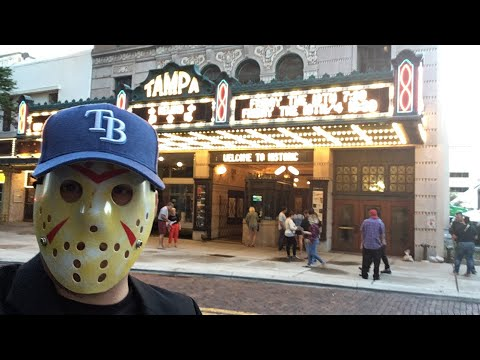 My Friday the 13th experience at The Tampa Theatre