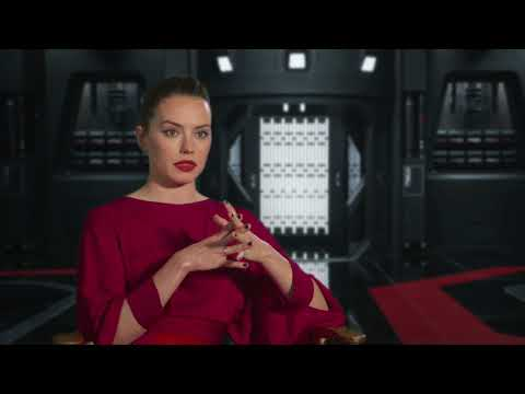 """Star Wars: The Last Jedi: Daisy Ridley """"Rey"""" Behind the Scenes Official Movie Interview"""