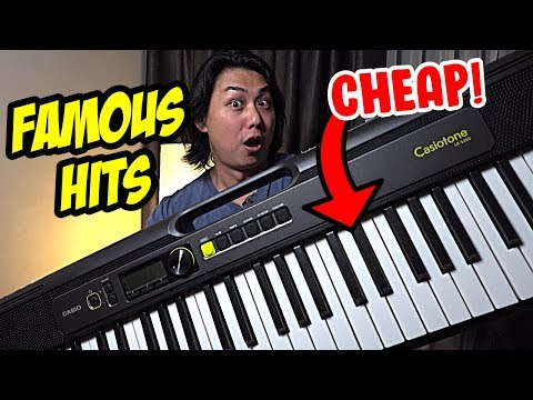 8 Top  Hits Played on Casiotone CT-S200 / CT-S300 / LK-S250 from Casio