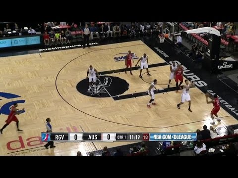 Highlights: Tony Bishop (29 points) vs. the Spurs, 4/2/2015