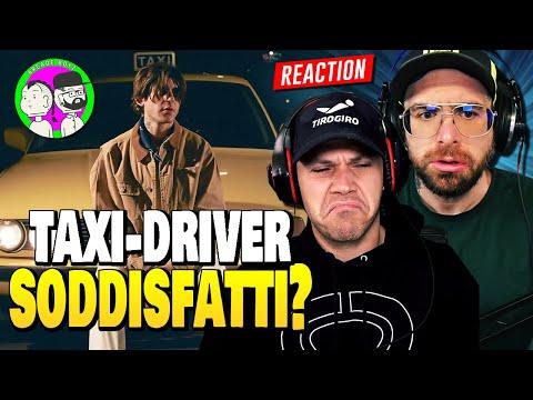 RKOMI - TAXI DRIVER [ REACTION & ANALISI UFFICIALE ] by Arcade Boyz