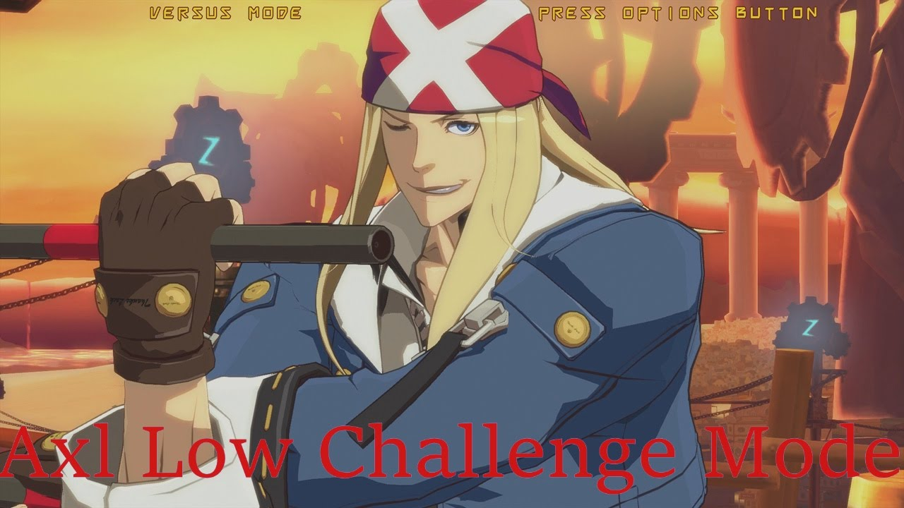 Guilty Gear Xrd Revelator Axl Low Challenges