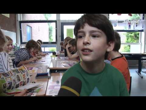 Kinderen Ontdekken Schiphol Met Het 'Schiphol Ontdek Boek'