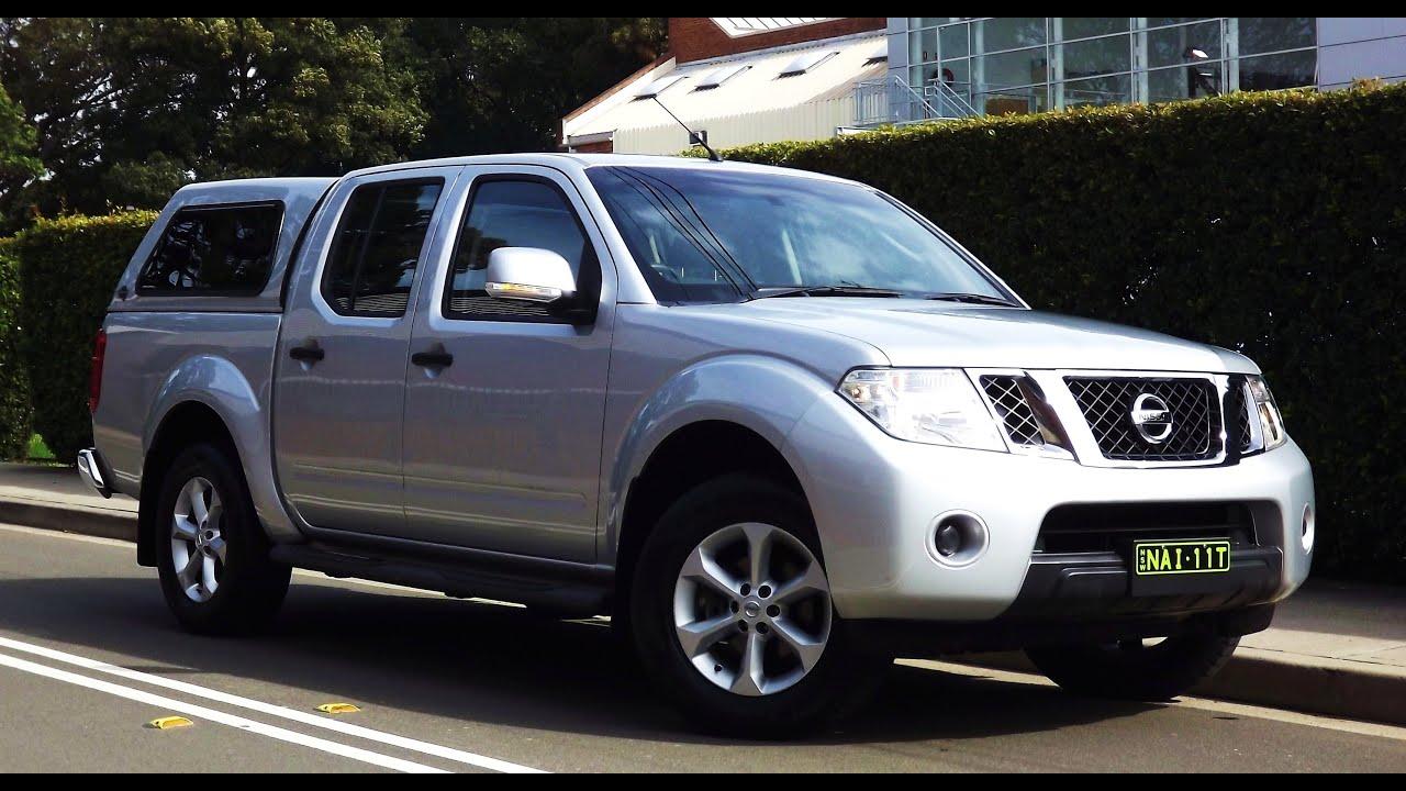 2013 nissan navara st d40 series 6 auto 4x4 31888 youtube