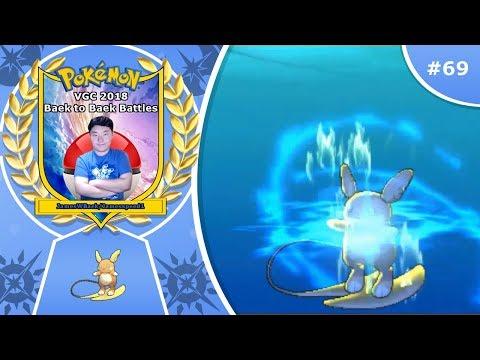 """Hydro Vortex Raichu"" Pokémon Ultra Sun & Moon VGC 2018 Baek to Baek Battles - Episode 69"