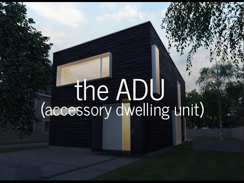 All about adus accessory dwelling units youtube for Accessory dwelling unit designs