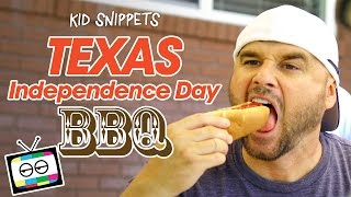 Texas Independence Day BBQ - Kid Snippets