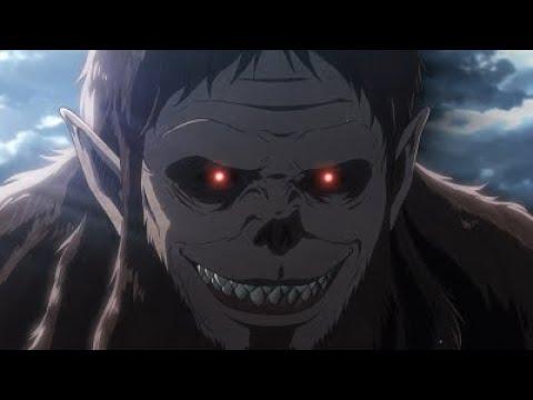 Reiner and Zeke Titan Transformation   Attack on Titan Season 3 Part 2 [1080p] [60fps] [Epic moment]