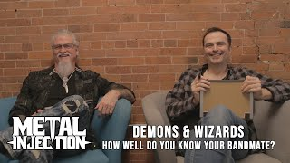 """DEMONS & WIZARDS Play """"How Well Do You Know Your Bandmate"""" 