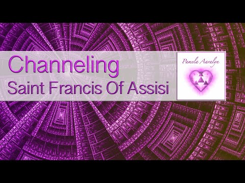 Pamela Channels St Francis Of Assisi